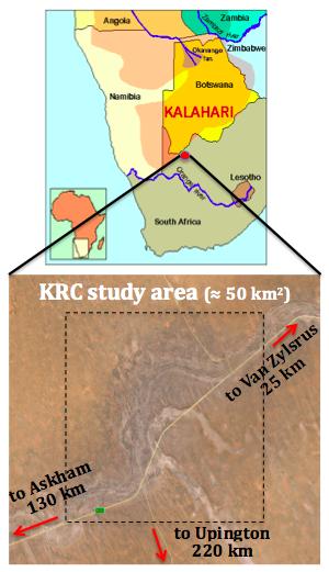 KRC study area